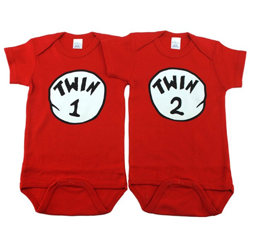 a699daa0a Unique Ways to Announce Your Twin Pregnancy with Onesies - Preemie ...