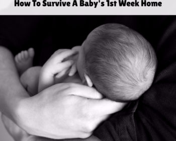 Surviving the Baby's First Weeks at Home