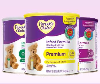 Free Parent's Choice Infant Formula Samples - Preemie Twins Baby Blog