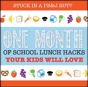 One Month of Easy School Lunch Ideas