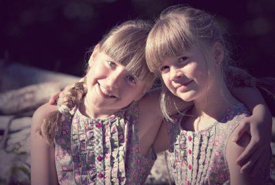 twin girls