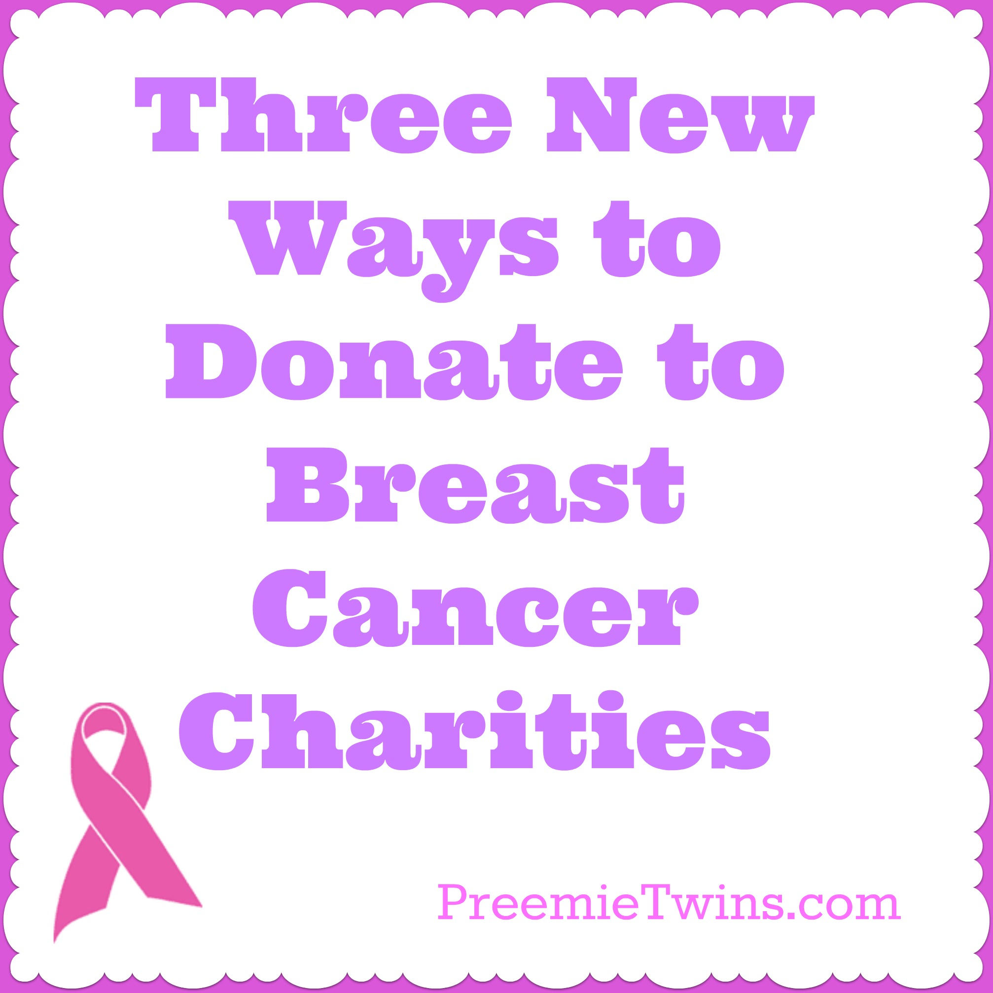 3 Ways To Donate To Breast Cancer Charities  Preemie. New Phones Coming To Us Cellular. Mba Human Resources Salary How To Bankruptcy. Best Rn Programs In California. Bright House Business Internet. Milford Rehabilitation Center. Business Credit Programs Franklin Street Yoga. Santa Monica Dui Lawyer Talbert Middle School. Talcum Powder Ovarian Cancer