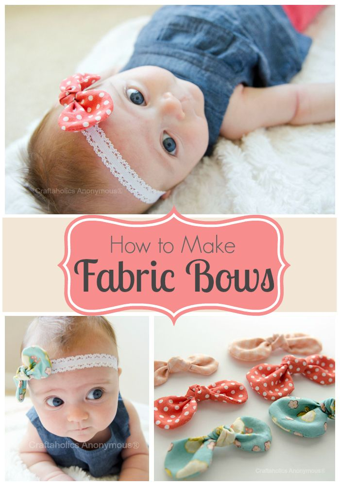 Baby Hair Bows How To Make Your Own Preemie Twins Baby Blog