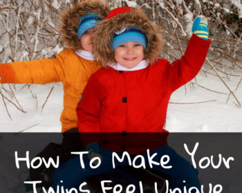 How To Help Your Twins Feel Special And Unique From The Moment They Are Born