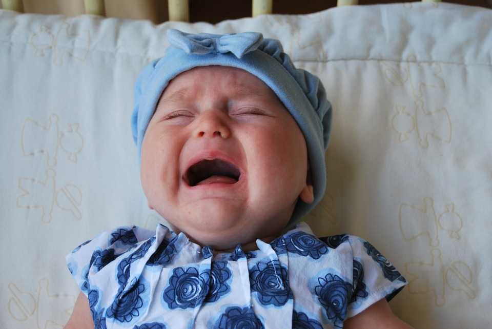 Crying baby pic