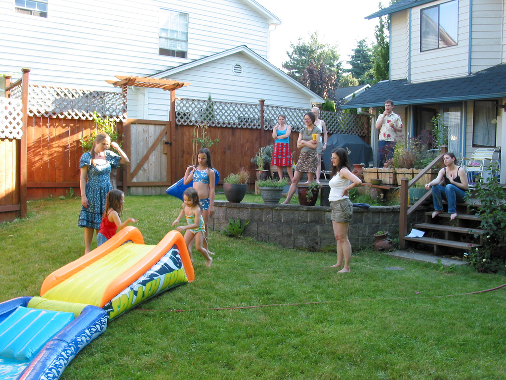 Home Decoration Games For Adults Throwing A Backyard Birthday Party For Your Child