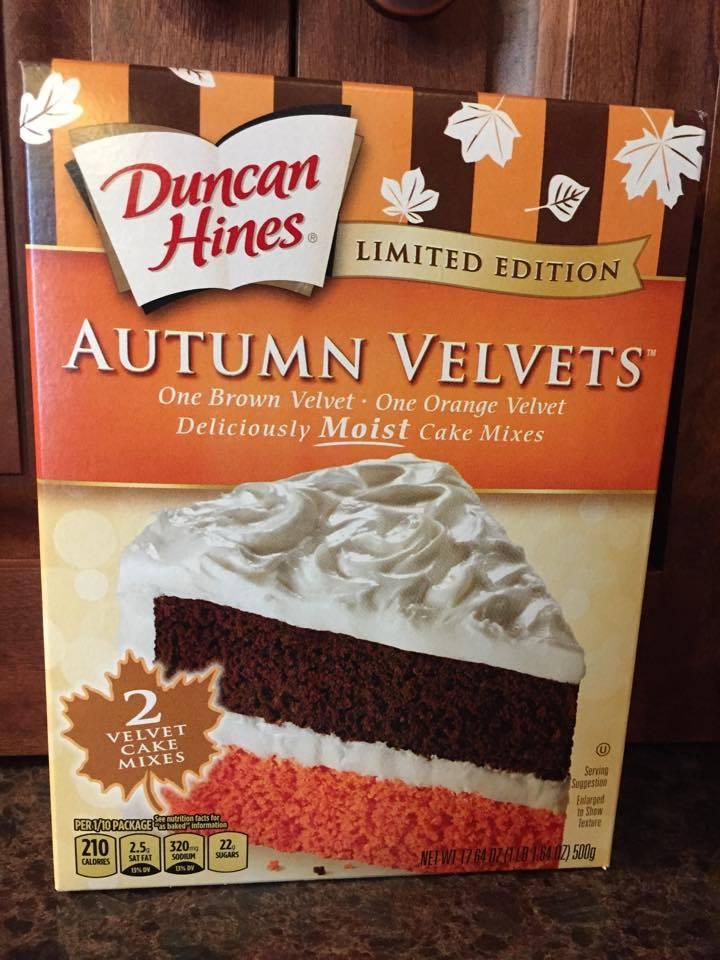 Autumn Velvet Cake Mix