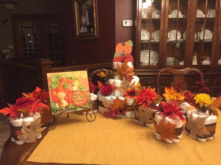 Autumn Baby Shower Decorations