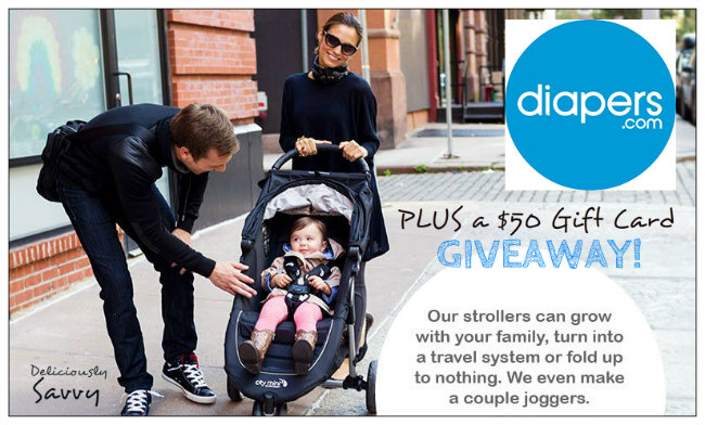 Win a $50 Diapers Gift Card!