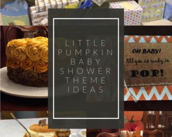Little Pumpkin Baby Shower Theme Ideas
