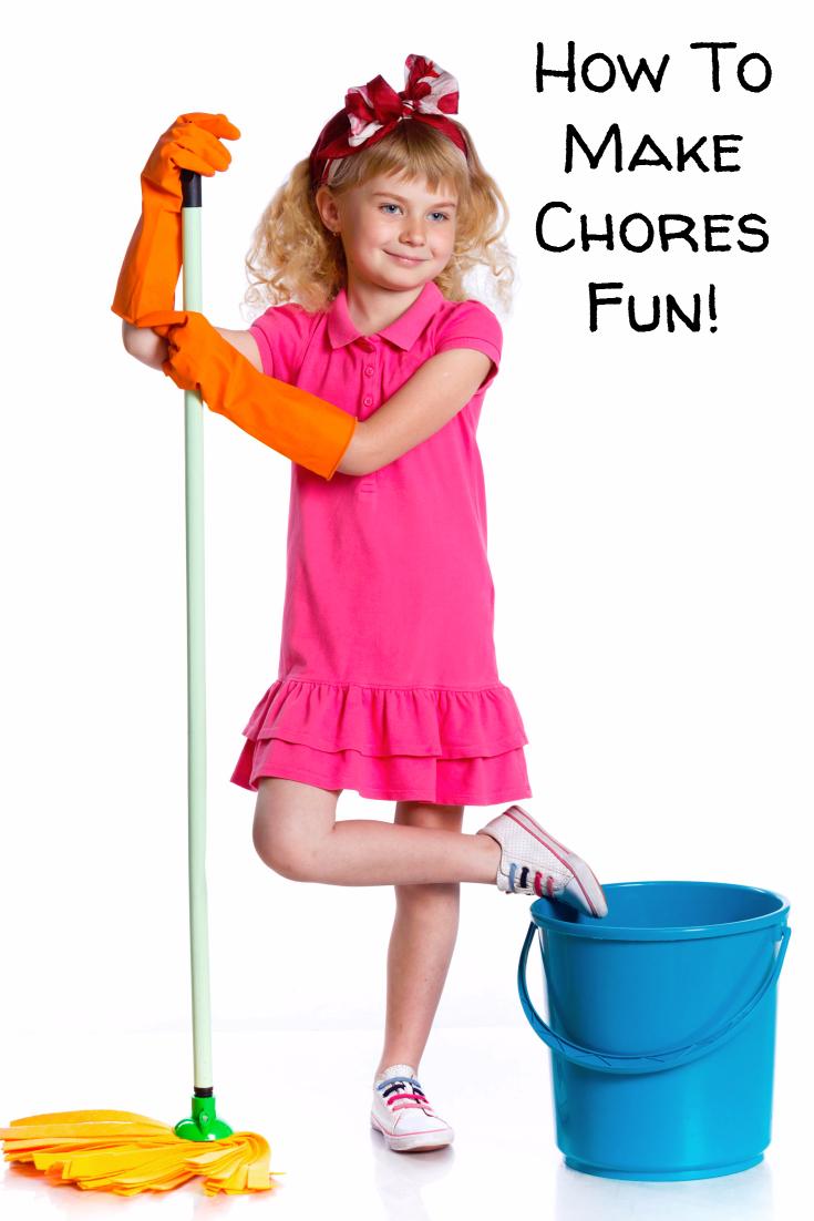 5 Ways to Make Chores Fun for Kids