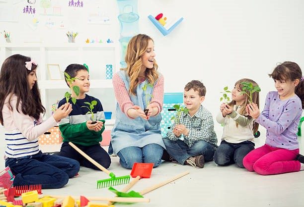 7 Tips on Creating a Green Childcare Center
