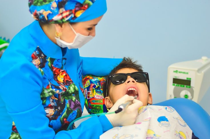 Child at Dentist photo