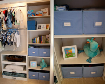 A Simple Guide to Organizing Your Nursery Closet