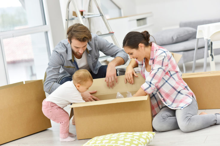 How to Get Ready to Move with a Baby In-Tow