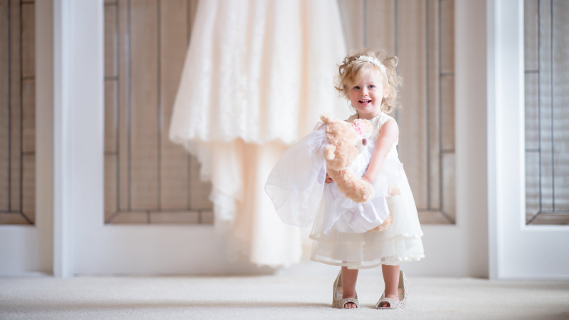 Dressing Toddlers For Weddings
